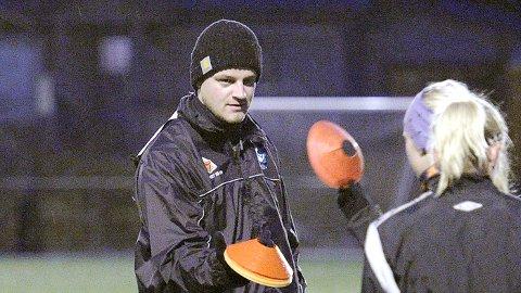 Jon Pall Palmason ledet sin første Klepp-trening søndag ettermiddag.