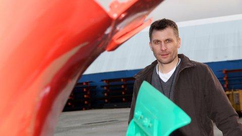NY: Trygve Martinsen blir ny administrerande direktør ved Kverneland Group Operations Norway AS (plogfabrikken).