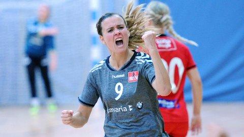 Anita Helene Bergsvik var sentral i de svært spennende sluttminuttene.