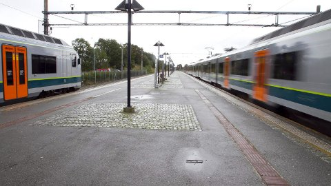 Jernbaneverket vil i løpet av månaden syna kor dei vil leggja det nye dobbeltsporet frå Sandnes til Nærbø.