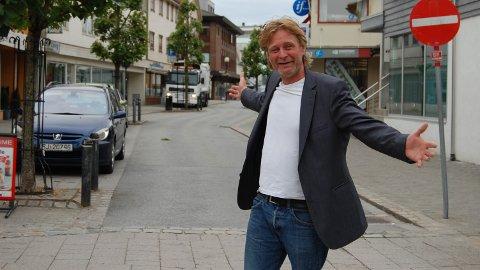 Leder i Brynebyen, Christian Stabel, drømmer om et pulserende Bryne sentrum.