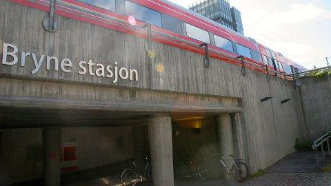 NSB legger ned billettkontoret på Bryne stasjon fra 1. september 2016.
