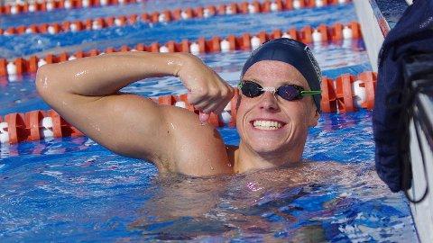 Erik Årsland Gidskehaug imponerte med en sterk seier på 400 meter fri i NM for junior i Kristiansand fredag.