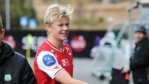 Ingen vet hvor Erling Braut Håland spiller fotball neste sesong. Bryne håper det blir hos dem.