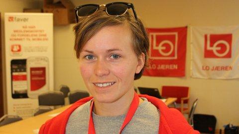 25 år gamle Solfrid Lerbrekk kan få plass på Stortinget.