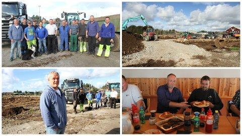 En entrepenør og 20 bønder stiller gratis opp for å hjelpe til i arbeidet med Vigrestad idrettsklubbs nye kunstgressbane.