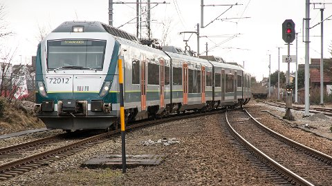 Mens dobbeltspor kom på plass mellom Stavanger og Sandnes i 2009, er det fortsatt bare ett spor for togene sør for Sandnes.