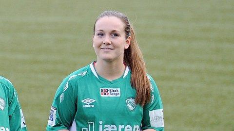 Hege Hansen fotografert i 2015, før hun meldte overgang til Avaldsnes. Nå er hun tilbake i Klepp - og på landslaget.