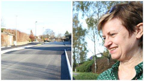 11 MILLIONAR: Bustaden til Ap-politikar Anne Brit Ree (bildet) og Hans Ree måtte vika for veg inn til bustadfeltet på Svertingstad ved Bryne. Avtalen med grunneigaren sikra ekteparet rundt 11 millionar kroner.