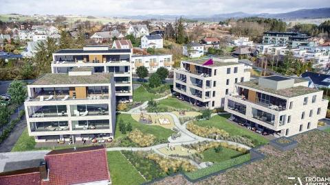 Det 123 kvadratmeter store husværet, som førebels berre er eit prosjekt, ligg ute for sal med ein antyda pris på 11,9 millionar kroner.