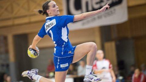 SPENSTIG: Bodil Sørheim har gjort sine saker bra i de fire sesongene hun har spilt for eliteserieklubben Tertnes i Bergen
