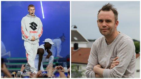 – Vi var helt i himmelen etter at Justin Biebers assistent kjøpte så mye hos oss, sier Svein Telstø (t.h).