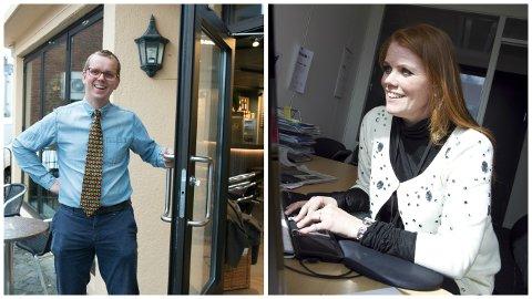 Bjørn Hagerup Røken og Synneva Erland lokkar med opa scene for gründerar – og så litt pils i tillegg.