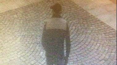 Bildet som er henta frå eit overvakingskamera i Bryne sentrum, er tatt i 22.30-tida torsdag.