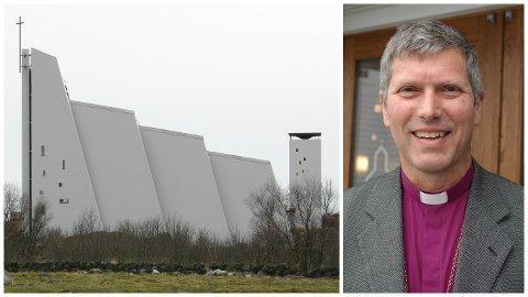 Biskop Ivar Braut mener menigheten på Nærbø ikke kan nekte å ta i bruk den nye vigselsliturgien, som åpner for at homofile og lesbiske par kan gifte seg i kirka.