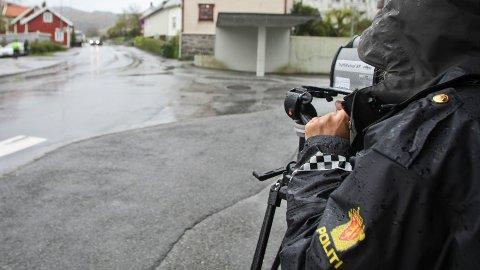 edlandsgeilane fartskontroll politi up utrykningspolitiet