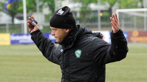 Olli Harder likte ikke det som møtte laget hans i Grimstad.