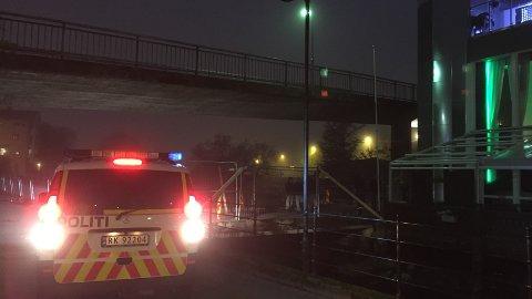 Politiet rykket ut etter melding om skyting på Møllehagen restaurant torsdag kveld.