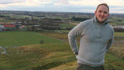 Landbruks- og matminister Jon Georg Dale leier juryarbeidet. Her er han fotografert under eit besøk i Hå tidlegare i år.