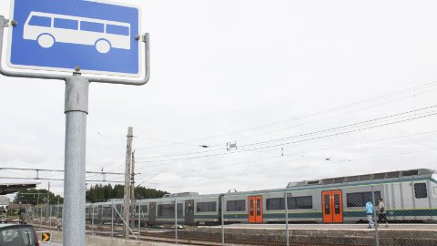 Mellom Sandnes og Stavanger skal kundene ta vanlige rutebusser, lenger sør langs Jærbanen blir det buss for tog. (Arkivfoto: Jorunn Erga Steinsland)