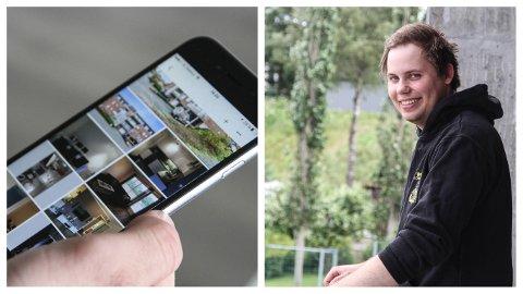 Joachim Johansen (24) fra Klepp, er en av 44 jærbuer som ved hjelp av få tastetrykk leier ut boligen sin gjennom Airbnb.