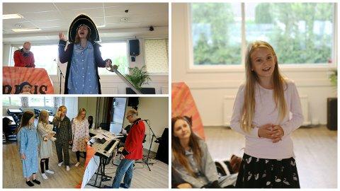 Sangprøvene til arrangementet på Brusand startet i går. Sangerne gleder seg til å vise frem showet sitt.