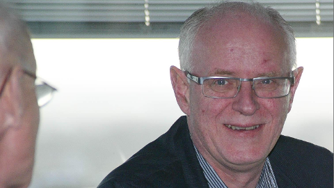 Magne Rommetveit. Bildet er frå eit komitébesøk på Bryne i 2011.