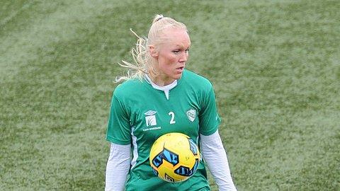 Maria Thorisdottir skal ha fått en smell under oppvarmingen til torsdagens kamp.