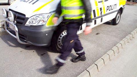 Politiet tok førarkortet frå den råkøyrande bilisten.