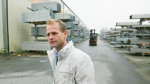 Geir Austigard er konsernsjef i Øglænd system. (Arkivfoto: Åge Bjørnevik)