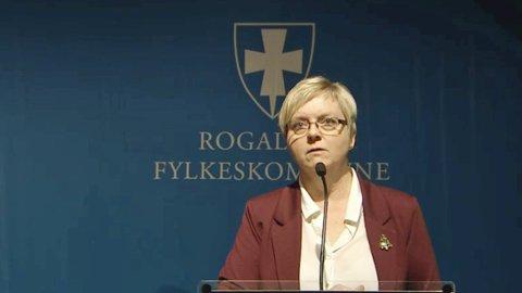 Fylkesordfører Solveig Ege Tengesdal (KrF) nekter å akseptere at to fylker vil bruke Vestlandet som nytt fylkesnavn.