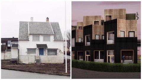 Slik vil arkitektane forvandla huset.