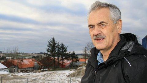 Rune Haaland er rektor ved Øksnevad vgs, og kan glede seg over stor pågang av ungdommer som vil bli elever ved skolen.