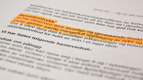 Per dags dato er det 46 personer som har aktivitetsforbud i Mattilsynets Region Sør og Vest. Halvparten av disse befinner seg i avdeling for Sør-Rogaland, Sirdal og Flekkefjord.