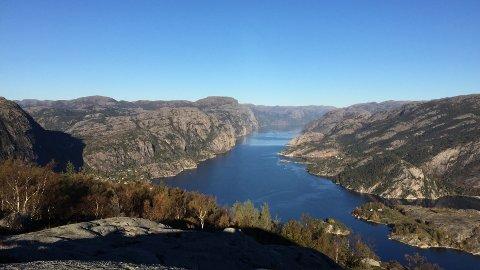 Vestlandet, med sine vakre fjorder og høyfjellsområder, er en geografisk merkevare. Dette bildet er Forsand.