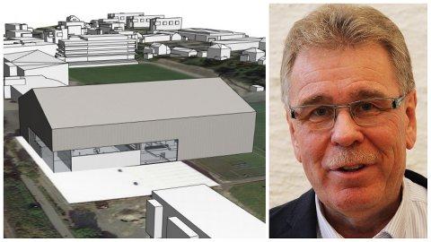 Petter L. Stabel sa nei då hallprosjektet til Bryne FK var oppe i formannskapet.