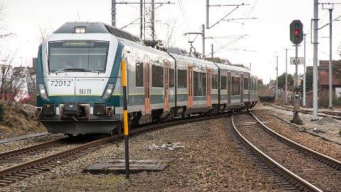 NSB har ikke lov å kjøre tog på Jærbanen uten konduktør om bord.