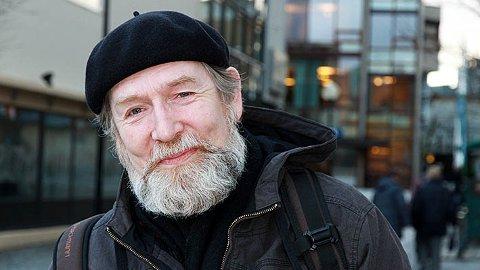 Lyrikaren Helge Torvund (66) har fått Doblougprisen. (Arkivfoto: Leif Tore Sædberg)