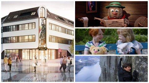 Til høsten kan den nye kinoen på Bryne lokke med blant annet Flåklypa, Karsten og Petra og Mission Impossible. I sistnevnte film får Tom Cruise til og med fjordutsikt!