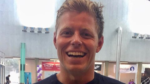 Erik Årsland Gidskehaug gjør det skarpt under langbane-NM.