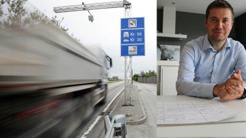 En foreslått bomring på Jæren skal betale for fire store veiprosjekter i distriktet. Geir Pollestad fra Time Senterparti er lite imponert over forslaget til bompakke som nå er ute på høring.