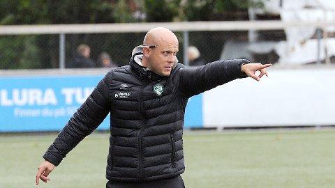 AKTUELL KANDIDAT: Olli Harder er trolig blant kandiatene til å overta trenerroret etter Bengt Sæternes i Sandnes Ul.