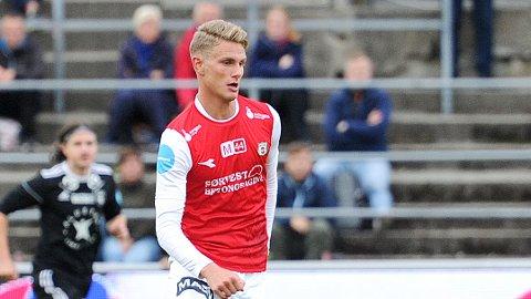 Einar Tunheim Lye scoret Brynes mål mot Stjørdals-Blink.