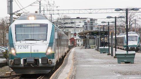 Hver dag er det 143 lokalavganger på Jærbanen.