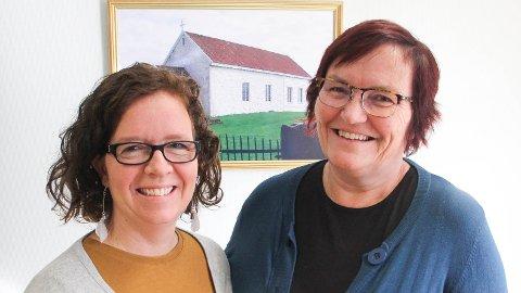 I månadsskiftet august/september begynte desse to ved Klepp kyrkjekontor: Diakon Ingelin Hatteland Norbakken (t.v.) og kyrkjeverje Inger Kari Søyland.