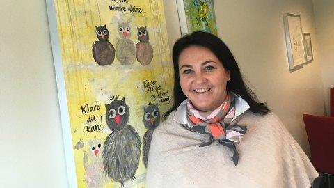 – Det var slettes ikke planen, jeg har stortrivdes på Hognestad, sier Heidi Barvik. Nå blir hun ny rektor på Bryne skule.