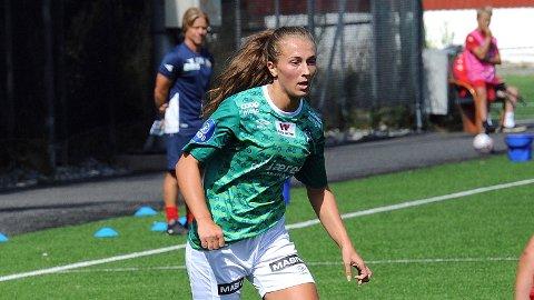 Matilde Alsaker Rogde var på banen i samtlige 90 minutter mot Røa, og skal trolig spille 45 minutter i onsdagens cupkamp mot Donn for Klepps juniorlag.