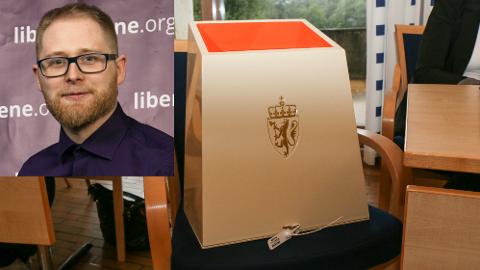 Kjell Bakke fra Vigrestad blir listetopp for Liberalistene i Hå.