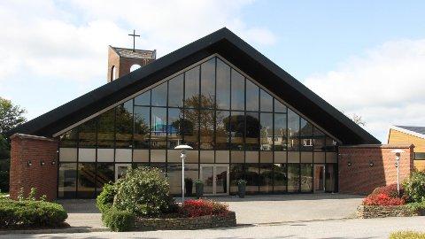 Bryne kyrkje er open sundag frå 11.00 til 12.00.