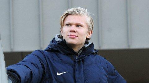 Erling Braut Håland ser fremover mot sitt første år i utlandet.